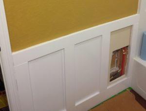 Merveilleux One Of The Panels Serves As A Hidden Access Door.